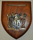 Vintage large County Borough of Southend on Sea plaque shield crest coat of arms