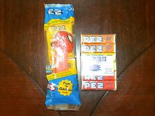 1999 Spiderman Pez Dispenser Thin Foot Short Feet DC Marvel Comics Red Hungary