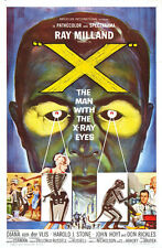 """The Man with the X-ray Eyes  Movie Poster Replica 13x19"""" Photo Print"""