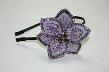 Hair Accessories, Flower beads  Headband, Hairband, Unique Gift for girl