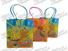 Nickelodeon Spongebob Party Favor Supplies Goody Loot Gift Bags [12ct]