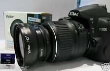58mm HD 2.0 WIDE ANGLE LENS FOR Nikon AFS DX NIKKOR 55-300mm f4.5-5.6G ED VR
