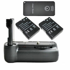 Vertical Battery Grip Pack For Nikon D3100 D5100 Camera + 2x EN-EL14 + IR Remote