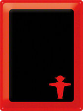 Tin sign Ampelmännchen Chalkboard 30x40 cm plate RED GDR retro stayers