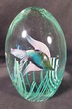 VINTAGE MURANO ART GLASS CENEDESE BARBINI AMAZING FISH AQUARIUM PAPERWEIGHT