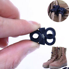 2Pcs Rope Clamp Boots Cross-over Shoelace Stopper Buckle Paracord Cord Lock Hot