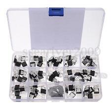 70Pcs 14 Values L7805-LM317 Transistor Kit Voltage Regulator With Storage Box