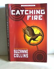 The Hunger Games Catching Fire Suzanne Collins Large Print Softcover FREE SH