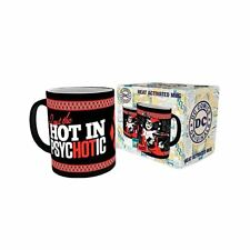 Official DC Harley Quinn Psychotic Heat Change Reactive Coffee Mug - Boxed