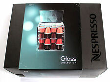NESPRESSO Glass Collection CUBE A&P Cahen Design #3181 CAPSULE DISPLAY DISPENSER