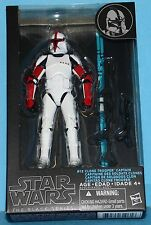 "HASBRO Star Wars Black Series 6"" Action Figure # 13 EP2 CLONE CAPTAIN"