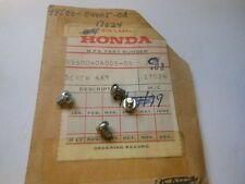 NOS OEM Honda CB350 CL350 CL450 CB450 SL350 Screw QTY4 99500-04005