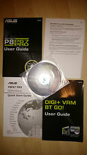 ASUS p8p67 Pro user guide con driver CD e Digi + VRM BT Go! manuale