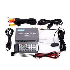 240km/h Strong Signal Mini DVB-T Mobile Auto Car Digital TV Box Twin Tuner MS7R