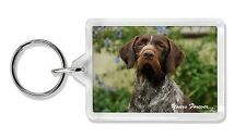 German Wirehair Pointer 'Yours Forever' Photo Keyring Animal Gift, AD-GWP1yK