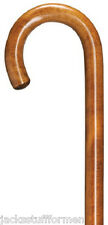Harvy Gastrock Crook Maple Wood Cherry Walking Stick Mens Cane Made in Germany