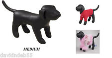 MED PREMIUM DOG MANNEQUIN Stuffed Display Model Manequin Clothing Apparel Collar