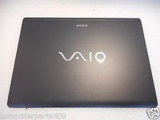 "3-878-122 Sony VAIO VGN-SR Series LCD Back Cover Lid 13.3"" Black 3-878-122 SE1"
