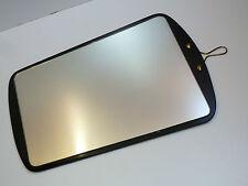 50er 60er WANDSPIEGEL Flur Spiegel Schwarzglas 56 cm 50s 60s wall mirror black