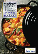 The Classic 1000 Vegetarian Recipes Carolyn Humphries Very Good Book