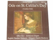 PURCELL -Ode On St. Celilia's Day- LP Eterna
