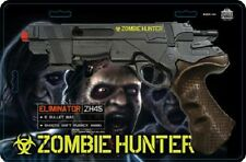 ZOMBIE HUNTER SOFT RUBBER AMMO TOY CAP GUN PISTOL ORANGE TIP TOY NEW
