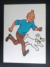 Rare Carte Tintin à volet