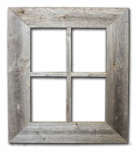 Reclaimed Rustic Barn Wood Window-Not For Pictures