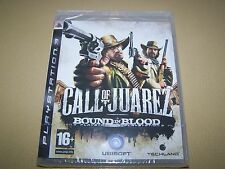 Call OF JUAREZ BOUND IN BLOOD PS3 ** NUOVO SIGILLATO **