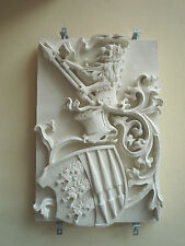 Su escudo familiar en tres dimensiones – Family, City Crest, coat relief Sculpture