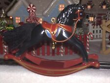 1982 HALLMARK ORNAMENT  ROCKING HORSE 2nd IN SERIES