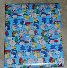 AMERICAN GREETINGS PEANUTS SNOOPY CHRISTMAS Wrapping PAPER 20 SQ FT ROLL