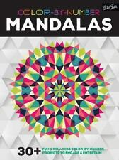 Color-by-Number: Mandalas: 30+ fun & relaxing color-by-number projects to engage