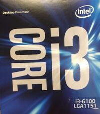 Intel Core i3-6100, 3 MB Cache, 3.70 GHz, LGA1151 CPU Processor (BX80662I36100)