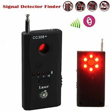 Detektor Versteckt Kamera GSM Audio Handy Finder GPS Signal RF Anti-Spy Tracker