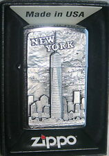 ZIPPO NEW YORK  One World Trade Center  PLATTE CHROM Neu 2016