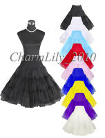 "27"" Rock n Roll 50s wedding petticoat swing underskirt TuTu Retro Vintage Skirt"