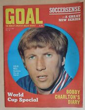 GOAL FOOTBALL MAGAZINE - 5.7.69 - ISSUE 48 - COLIN BELL - ALAN BALL