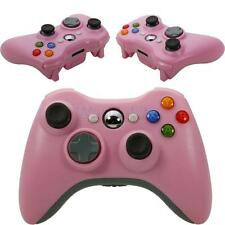 New Pink Wireless Game Remote Controller for Microsoft Xbox 360 Console Gamepad