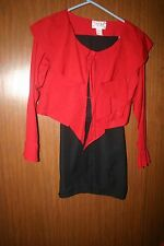 equestrian clothing riding western show outfit extra femme collection med red