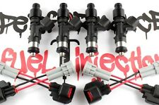 4 - 650cc DIRECT FIT Fuel injectors 89-05 Mazda Miata MX-5 1.6L 1.8L Turbo B6ZE