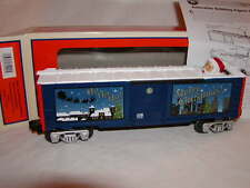 Lionel 6-81992 Christmas Santa Claus Bobbing Head Box Car O 027 2014 MIB New