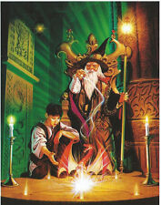 Sacred Circle Wizard Magic Glow In Dark 500 pc Bagged Boxless Jigsaw Puzzle