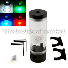 Cylinder 140 Reservoir Water Tank With LED Light For PC Liquid Water Cooling