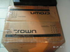 crown macro tech 3600vz power amp