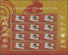 US 5154 Celebrating Lunar New Year Rooster forever sheet MNH 2017