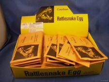 WHoLESALE LOT OF 24 RATTLESNAKE EGGS SNAKE PRANK PRACTICAL JOKE gags novelty fun