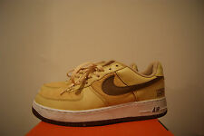 Nike Air Force 1 One Low Sz 11 NYC Gold Dust Bison Corduroy VTG 306509-721