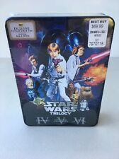STAR WARS  LIMITED 2006 DVD Collection - Original Trilogy MIB TIN! Never Opened!