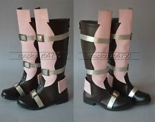 Final Fantasy XIII FF 13 Lightning Cosplay Shoes Boots Any Size